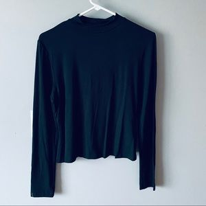 Missguided long sleeve turtle neck top